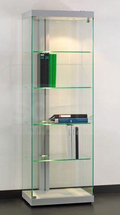 Cool moderne Vitrine feste Glasb den