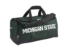 Nike Team Training Max Air (Michigan State) (Medium) Duffel Bag