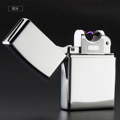 Wysokiej Jakości Metalowa USB Arc Zapalniczki, Impuls Elektryczny Arc Zapalniczki, można umieścić w papierośnica