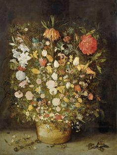 Stilleven met bloemen, Jan Brueghel (I), 1600  With love, Anne - www.iannsterdam.com