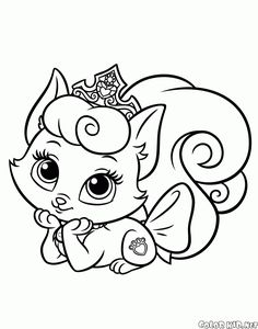 you can download and print out the coloring pages for kids rapunzels pet from our website