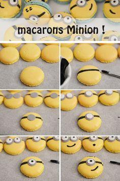 Divertida idea para aperitivo de una celebración de cumpleaños Minions