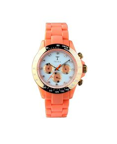 Coral Flamingo watch (Triwa Miami Deco collection). OBSESSED.