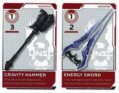 BANG!: Halo - Gravity Hammer & Energy Sword