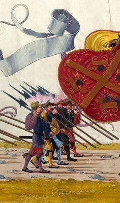 Landsknecht - Artist: various, Title: »Triumphzug Kaiser Maximilians« Page 9, Date: 1526