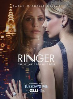 Ringer...this show was just getting good, and they canceled it.  Nice to see SMG back on TV again though...