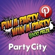Pin your Halloween party essentials for a chance to win a $500 Party City shopping spree! Enter to win Party City's Pin a Party Win a Party Contest! #halloween #partycity
