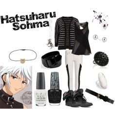 """Haru Sohma"" by casualanime on Polyvore"