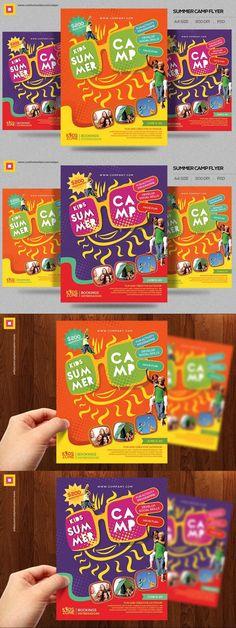 Kids Summer Camp Flyer V2 #grandopening #frame #FlyerDesign #FlyerTemplate #flyer #template #printtemplates #design #template #beach #kids #flyers #festival #postertemplate #ocean #flyers #romance #flyer #cuba Summer Camps For Kids, Summer Kids, Beach Kids, Kids Ca, Print Templates, Happy Kids, Grand Opening, 2 Colours, Flyer Template