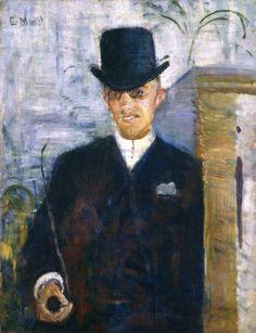 The Athenaeum - Klemens Stang (1885 - 1886) (Edvard Munch - )