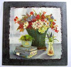 Flora, Painting, Painting Art, Plants, Paintings, Painted Canvas, Drawings