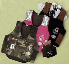 Bull Rider Vest - comes in black, brown, pink and camo. $27.95