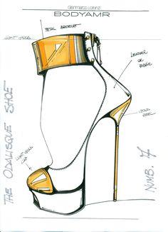 how to draw fashion illustration handbags | How to Draw Shoes in Fashion Illustration | eHow.com