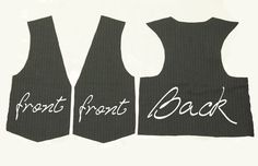 vest patterns to sew free | vest pattern is pretty easy. I use a basic top drafted pattern ...