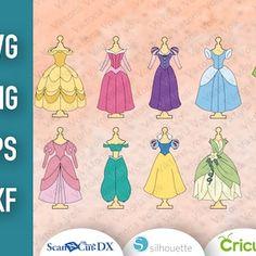 Princess Outfits, Baby Princess, Dress Cuts, Paper, Etsy, Princess Dress Up Clothes