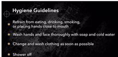 Rules when cleaning your gun
