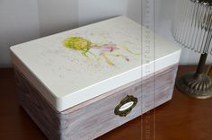 wooden box for a girl