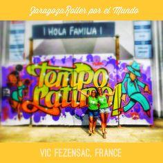 Adriana y Priscila en el festival Tempo Latino de Vic Fenzensac.