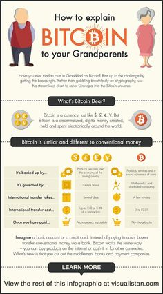 How to explain #bitcoin to your grandparents