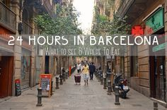 With only 24 hours to explore and dive into all the cultural wonders Barcelona had to offer, we dropped off our bags at our El Born apartment and hit the ground running! Our first stop of the day was