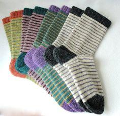 KNITTING PATTERN / Bywater Adult/Teen Socks / knit sock pattern / striped sock pattern / Striped Adult Socks / Women socks / Men socks - Lilly is Love Patterned Socks, Striped Socks, Unisex Clothes, Unisex Outfits, Knitting Patterns, Crochet Patterns, Knitting Tutorials, Stitch Patterns, Sport Weight Yarn