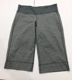 Lululemon Clam Diggers Size 8 Grey  | eBay Grey Outfit, Clams, Lululemon, Athletic, Clothes For Women, Ebay, Outerwear Women, Athlete, Conchas De Mar