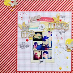 Liliths scrapbooking venture: Everyday I am more me & GIVEAWAY!