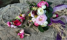 Gelin Buketi & Gelin Tacı & Damat Yaka Çiçeği Elifçe Tasarımlar - Bridal Bougued