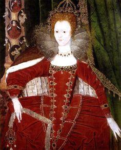 1598 Queen Elizabeth 1st