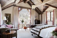 Rustic Bedroom decor by Thom Filicia Photos | Architectural Digest