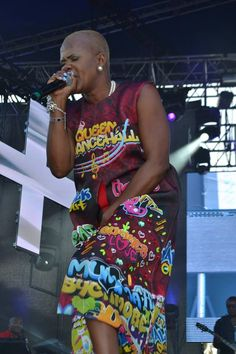 The 'Queen of the Dancehall' Lady Saw made history as the first female artiste to close Reggae Sumfest Dancehall Night.