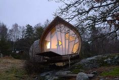 Дом-1 (Hus-1) в Швеции от Torsten Ottesjo.