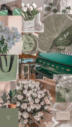 light green aesthetic