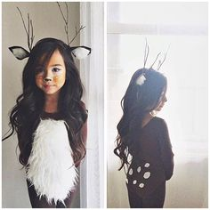 #tbt to last Halloween and my sweet little baby deer. She loved this costume so much #aaliyahtien