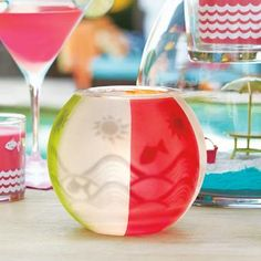 porte réchaud Cocktail sur la Plage (P91829) Pour commander partout en France 06 12 29. 05 31 www.annaig.partylite.fr
