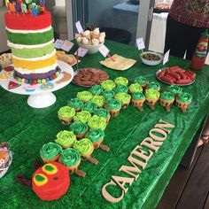 Hungry caterpillar Birthday