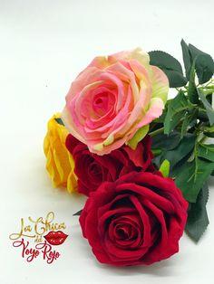 Flores art. decorativas efecto natural Rose, Natural, Flowers, Plants, Fake Flowers, Home Decoration, Pink, Roses, Flora