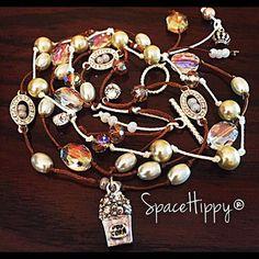 LuckyRapsTM Queen of Popcorn by SpaceHippyTM by SpaceHippyStuff