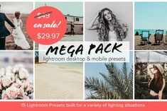 *SALE* Lightroom Presets 4 Lifestyle Photos -- For Mobile AND Desktop Photoshop Filters, Photoshop Actions, Filter Camera, Raw Photo, Professional Photo Lab, Mobile Photography, Photography Tips, Cool Landscapes, Landscape Photos