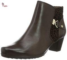 Caprice 25335, Bottes Classiques Femme, Marron (Dk Brown Comb 328), 38.5 EU - Chaussures caprice (*Partner-Link)