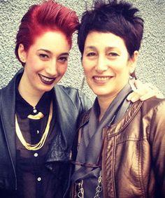Erin Wahed & Janis Kerman of Bande des Quatres