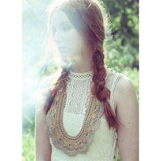 Winona necklace in cream | MARGOT & ME