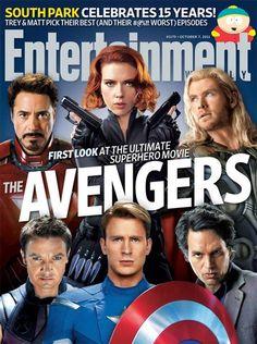 Filme Os Vingadores ganha primeiras fotos oficiais