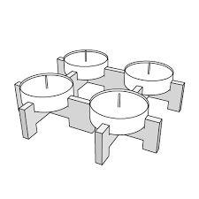 Image result for laser cut candle holder