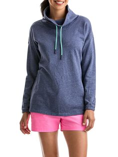 Performance Funnel Neck Knit Tunic