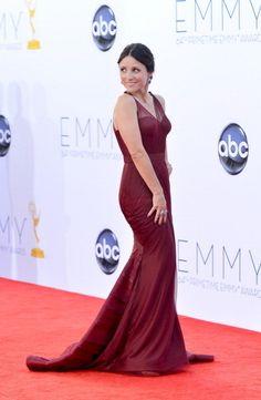 Julia Louis-Dreyfus in Vera Wang / 2012 Emmy Awards