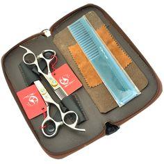 Meisha 6.0Inch Hair Scissors Set for Hairdressing JP440C Hair Cutting Shears Thinning Tijeras 20% to 30% Hair Cut Rate HA0258  #Affiliate