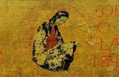 'Avane prédelle, Madonna', huile de Paolo Uccello (1397-1475, Italy)
