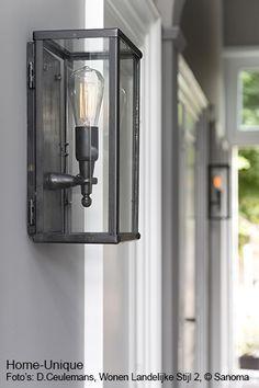 Industrial Lighting, Outdoor Lighting, Room Lights, Wall Lights, Create Your House, Interior Styling, Interior Design, Exterior Lighting, House In The Woods