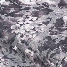 Leichtstrick mit Ausbrennermotiv 'Blumen', grau-color Celestial, Outdoor, Gray, Florals, Creative, Outdoors, Outdoor Living, Garden